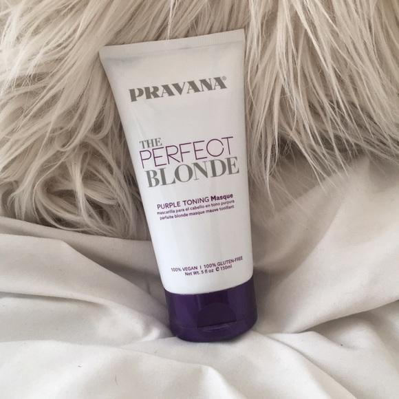 Pravana Accessories Brand New Perfect Blonde Toning Mask Poshmark